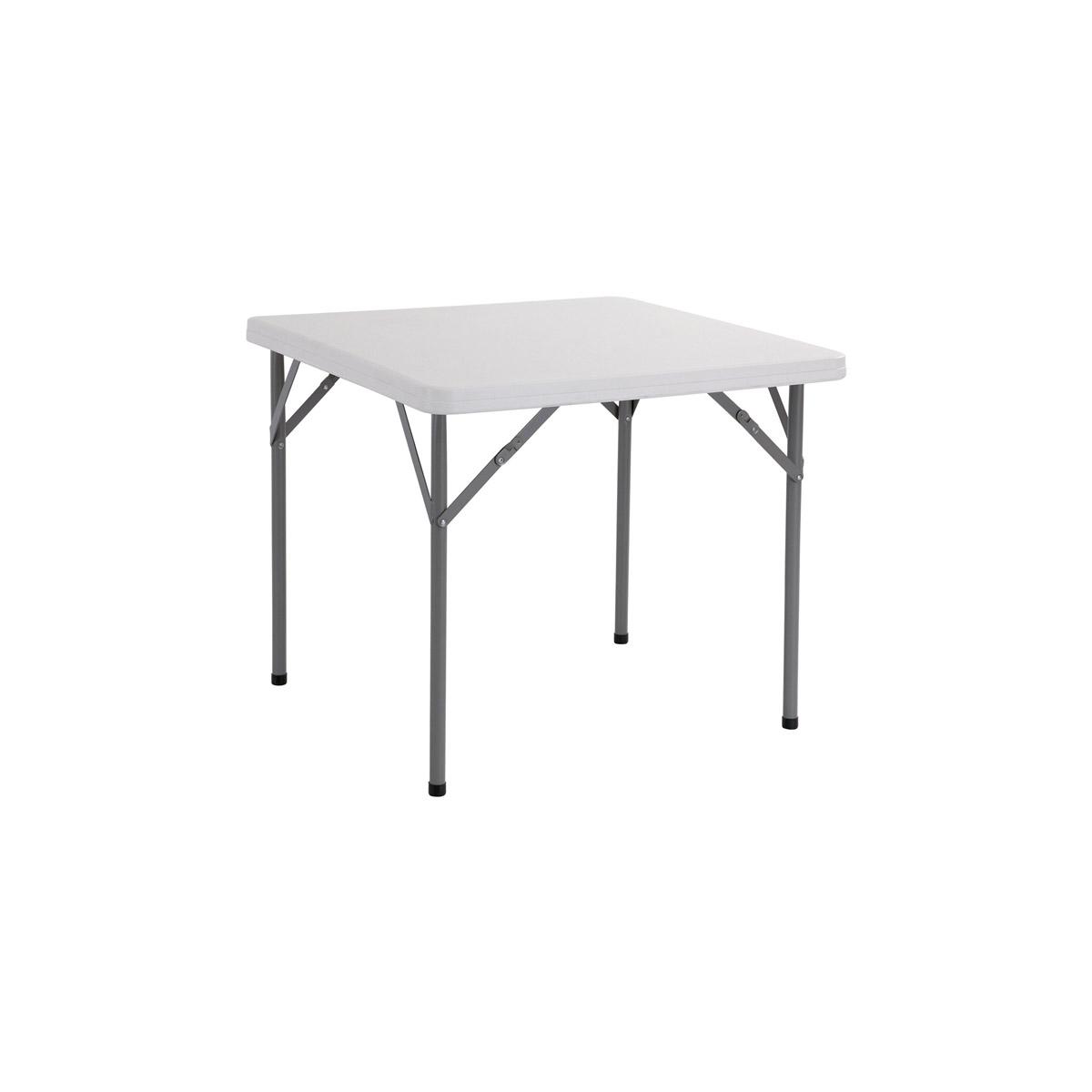 Tavoli Con Gambe Richiudibili.Tavolo Rettangolare Con Gambe Pieghevoli Mm 860 X 860 Serena Group